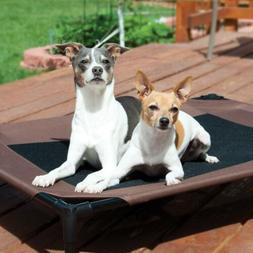K&H Pet Products Original Pet Cot Elevated Pet Bed Large Cho