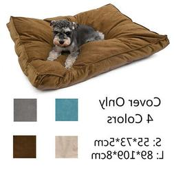Pet Dog Bed COVER ONLY Mat Puppy Kitten Cushion Warm Pad Was