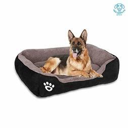 PUPPBUDD Pet Dog Bed for Medium Dogs,Dog Bed with Mach