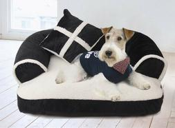 Pet Dog Bed Lounge Sofa Style Pet Bed and Comfortable Stream