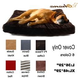 Pet Dog Cat Bed Cover Soft Puppy Cushion Mat Replacement Was