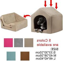pet dog cat dome bed kitten cave