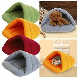 Pet Dog Cat Kitten Cave Crate Keep Warm Winter Bed House Sle