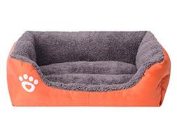 Pet Dog Cat Puppy Sleeping Bag Warm Soft Solid Dog Bed Kenne