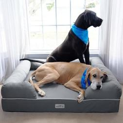 Pet Dog Memory Foam Sofa Large Bed Lounge Soft Cozy Plush Wa