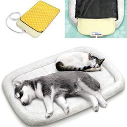 Pet Electric Heated Pad Heater Puppy Dog Cat Warmer UL Bed H