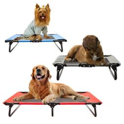 pet elevated cot dog bed hammock indoor