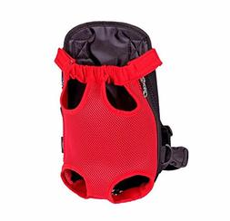 Gracefur Pet Front Backpack Carrier Cute Legs Out Top-Load D