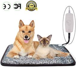 Homello Pet Heating Pad for Cats Dogs, Waterproof Electric H