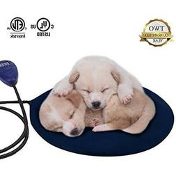Pet Heating Pad Electric Bed Mat Warmer for Small Dogs & Cat