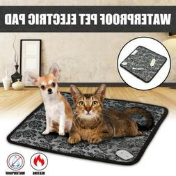Pet Heating Pad Warming Bed Puppy Dog Cat Bed Mat Electric H
