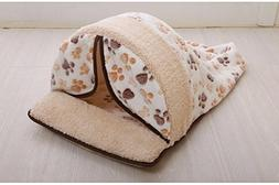 Be Good Pet House Dog Bed Soft and Warm Mattress Cave for Ca