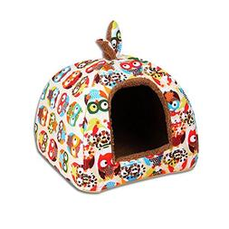UEETEK Pet Igloo Bed Pet house Dog Cat Igloo Beds Dog Cat So
