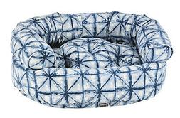 Bowsers Pet Luxury Cushioned Microvelvet Double Donut Dog Be