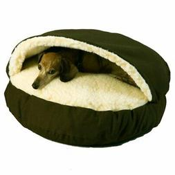 Snoozer Pet Products – Cozy Cave Dog Bed | Small - Olive