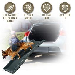Perfect Life Ideas Pet Ramp for Car SUV Truck Boat - Folding