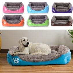 Pet Sofa Large Dog Bed Mat Puppy Cats Nest Warm Soft Kennels