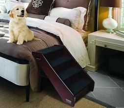Pet Stairs Wood Steps Dog Step Bed Folding Cat Tall Large Ha