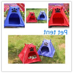 Pet Tent Portable Folding Large Dog House Indoor Outdoor Wat