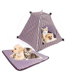 Pet Tent ,Portable Folding Dog Cat House Bed Tent Waterproof