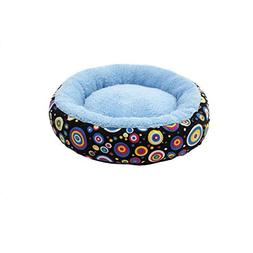 Aolity Multicolor pet Warm Canvas Round Breathable Kennel ca
