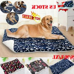 Pet Washable Home Blanket Large Dog Bed Cushion Mattress Ken