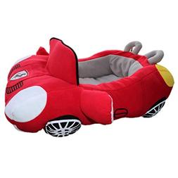 PetBoss Sporty Luxury Car Shaped Cozy Pet Bed for Small/Medi