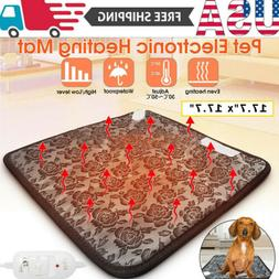 Pets Dog Cat Waterproof  Heated Pad Bed Puppy Warmer Electri