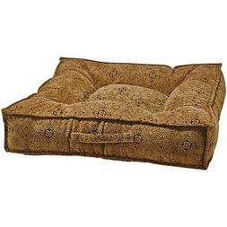 Bowsers Piazza Pecan Filigree Dog Bed