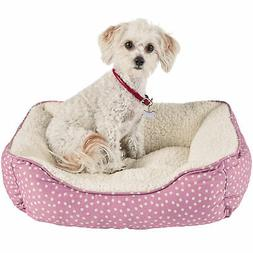 """Harmony Pink Dot Nester Dog Bed, 20"""" x 17"""" FREE SHIPPING"""