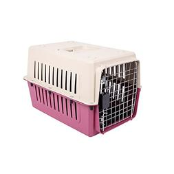 KARMAS PRODUCT Small Plastic Cat & Dog Carrier Cage Portable