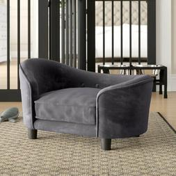Plush Bed Removable Cushion Cover Dog Sofa Luxury button Fra
