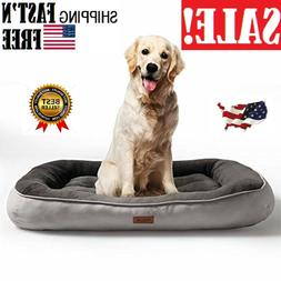 Petsure  Plush Dog Bed  for Small, Medium, Large Pets - Mach