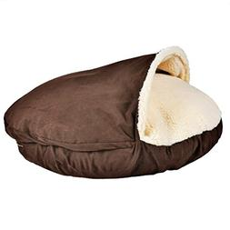 Sofantex Plush Pet Bed Cave for Cats and Small to Medium Siz
