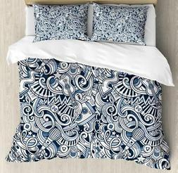 Popstar Party Duvet Cover Set Twin Queen King Sizes with Pil