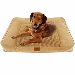 Portable Extra Large Dog Ultra Plush Memory Foam Orthopedic