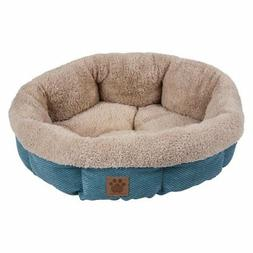 Precision Pet SnooZZy Mod Chic Round Shearling Bed
