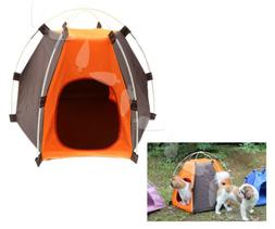 Protable Washable Folding Outdoor Pet House Cat Dog Soft Bed