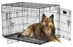 "Petmate""ProValu"" Wire Dog Crate, Two Doors, Precision Lock S"
