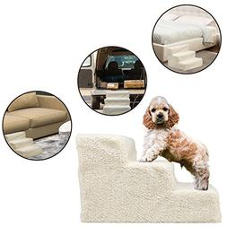 Puppy Pet Stairs Dog Steps - For Small Pets Dogs Cats Doggie