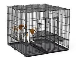 """MidWest Puppy Playpen with 1 Inch Mesh Floor Grid, 36""""L"""