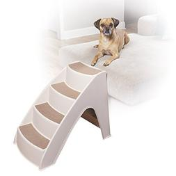 PetSafe Solvit PupSTEP Lite Pet Stairs, Steps for Dogs and C