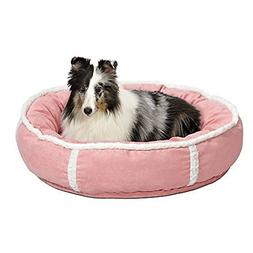 Quiet Time Deluxe Rondelle Bed, Small - 21 L x 21 W, Pink