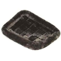 Midwest Quiet Time Pet Bed, Gray, 48 x 30