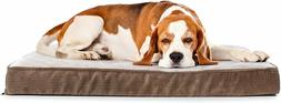 Milliard Quilted Padded Orthopedic Dog Bed, Egg Crate Foam w