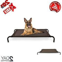 Raised Dog Bed Camping Elevated Cot Big Outdoor Extra Large