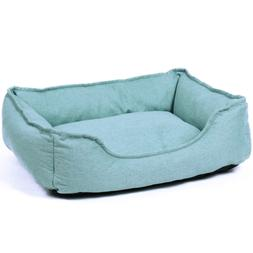 PAWZ Road Rectangular Bolster Dog Bed for Small Cats and Dog
