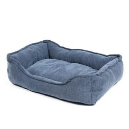 PAWZ Road Rectangular Bolster Dog Bed for Small Medium and L