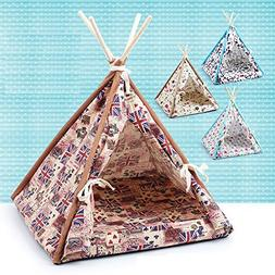 Stock Show 1Pc Removable Washable Wood Frame Canvas Tent Tee