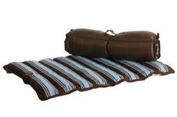 One for Pets Roll Up Travel Pet Bed Dog Mat, Large, Blue